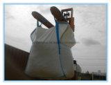 O elevador do túnel dá laços no saco tecido PP do saco da tonelada