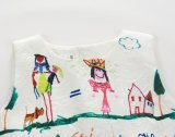 Vestito Sleeveless dalla stampa dei graffiti del bambino in vestiti degli abiti dei bambini