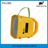 Rechargeable Solar Power Camping Radio Lanterne avec chargeur solaire de téléphone mobile