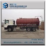 Sino HOWO Rhd LHD 6X4 유조 트럭 16000 리터 진공 하수 오물 흡입