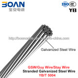 Gsw, Galvanized Steel Wire, Guy Wire, Stay Wire (YB/T 5004)