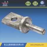 Engrenagem CNC de usinagem de frio e extração de aço