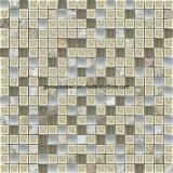 Ice naturale Crackle Ceramic & Glass Tile Mosaic con Culturte Stone