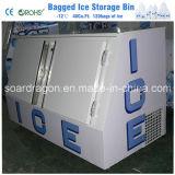 氷の収蔵可能量960lbs.の傾いたドアの氷のマーチャンダイザーの立方体の氷の大箱