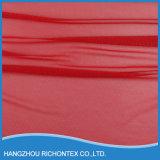 Tela de seda por atacado vermelha agradável do laço da boa qualidade