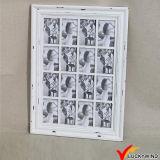 Frames chiques gastos da foto da parede da multi abertura cinzenta do vintage