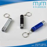 Form Keychain helle Aluminiumlegierung-Taschenlampe Keychain