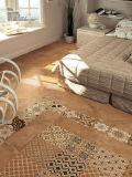 Azulejo de suelo esmaltado de la porcelana