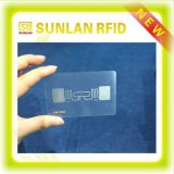 Amostra livre! Cartão de RFID/cartão esperto sem contato da identificação de Card/PVC/cartão em branco de RFID Card/NFC/cartão da proximidade/cartão chave transparente do cartão/hotel para o controlo de acessos