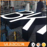 Laser die de Zij Decoratieve Brieven van het Roestvrij staal snijden