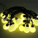 Wasserdichtes LED-Kugel-Zeichenkette-Licht mit der 40mm Birne