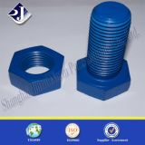 Boulon hexagonal de finition de teflon grand