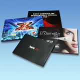 2015 la plus nouvelle impression visuelle de brochure de la conception 7inch pour la promotion