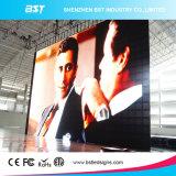 Alta tablilla de anuncios a todo color de interior de LED del alquiler de Refreshrate P5mm