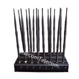 fascia bassa delle antenne 42W 16 tutte le fasce fino al modello di 50m, emittente di disturbo del cellulare di 3G 4G WiFi GPS con il ventilatore