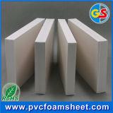 Panneau en plastique de mousse de PVC Celuka du blanc 17mm de porte intérieure de PVC pour le plafond