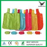 Aufbereitete Polyester-faltbare Einkaufstasche