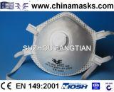 Non-Woven устранимый респиратор от пыли обеспеченностью лицевого щитка гермошлема