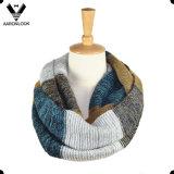최신 판매 최신유행 Ombre에 의하여 뜨개질을 하는 줄무늬 Snood 스카프