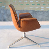 Sofá moderno Chair de New Design PU/Leather com Metal Legs