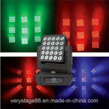 25*10W 5X5 LED Träger bewegliche magische Maxtrix Hauptinstrumententafel-Leuchte