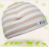 Infantのための自然なOrganic Cotton Baby Hat