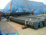 Câmara de ar de aço sem emenda do carbono A106-B Sch40 Sch80 em Shandong