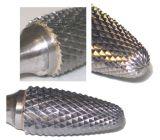 炭化タングステンのぎざぎざかファイルまたは回転式、機械化の鋳鉄、カーボンの、ステンレス製および合金鋼鉄で使用されて