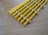 Grille de fibre de verre, semelles d'escalier structurales, grille de FRP/GRP