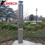 Teléfono Emergency al aire libre impermeable Knem-21&#160 del G/M SIM del teléfono de Koontech;