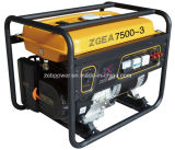 7kw Open Type Three Phase Portable Gasoline Generators (ZGEA7500-3 und ZGEB7500-3)