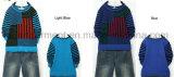 カレンの子供の長い袖の対照は編まれたセーターを着色した