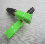 Sc/APC Singlemode Faser-schneller Optikverbinder