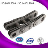 Steel Draw Bench Hollow Pin Leaf Chain with ISO Approved