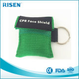 Односторонняя маска Keychain CPR лицевого щитка гермошлема CPR клапана