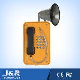 Téléphone sans fil industriel, intercom extérieur de SIP, téléphone raboteux de tunnel