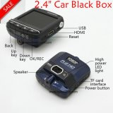 """최신 판매 2.4 """" Ntk96220를 가진 HD1080p 차 사진기; G 센서; WDR; 야간 시계 기능 DVR-2401"""
