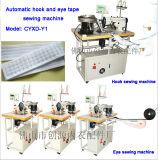 Gancho automático e Eye Máquina de Costura Tape