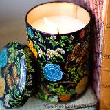 El verano florece la vela sospechada naturaleza