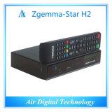 T2 esperto relativo à promoção da estrela H2 DVB S2 DVB de Zgemma da caixa da tevê