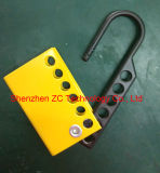 Segurança Aluminum Hasp Coated com Customized Color