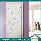 PVC de alta calidad de la madera plegable de puerta francesa (WDH59)