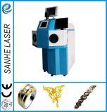 宝石類をはんだ付けするための宝石類のレーザ溶接機械使用