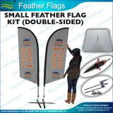 I commerci all'ingrosso scelgono/doppia bandierina di spiaggia parteggiata/bandierina della piuma (M-NF04F06072)