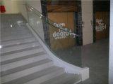 21 Moda del Siglo todo vidrio Pasamanos de acero inoxidable 304