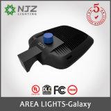 외부 LED 점화 UL 의 목록으로 만들어지는 Dlc 프리미엄을 점화하는 150W Shoebox 지역