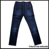 上の販売最新のデザイン環境に優しく青いデニムの紳士のジーンズ(N16984)