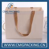 Sac de porteur d'habillement de stratification de Matt de livre blanc (CMG-MAY-009)