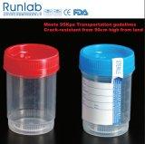 FDA registrata e contenitore contrassegnato dell'esemplare di analisi delle urine 90ml del Ce