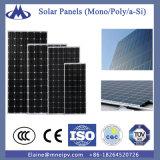 Mono scheda cristallina della cellula solare al silicio di 320 W